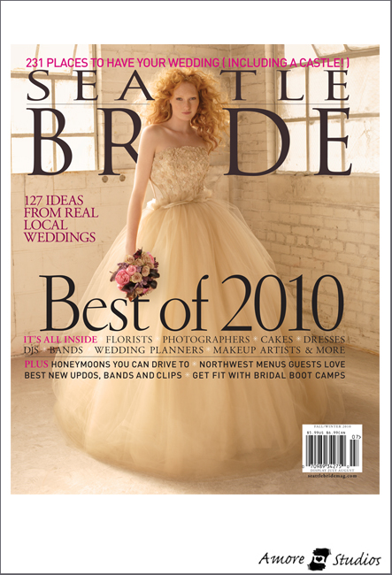 Seattle Bride Summer 2010 Cover